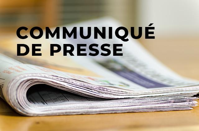 Communiqué de presse – Plan d'action: En action pour la main-d'œuvre
